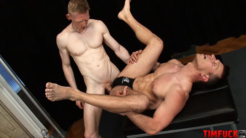 Treasure-Island-Media-TimFuck-ALEX-KAINE-and-ROB-YAEGER-Bareback-Fucking-Amateur-Gay-Porn-9 Rob Yaeger Shoves His Big Ginger Cock Up An Amateur Ass Bareback