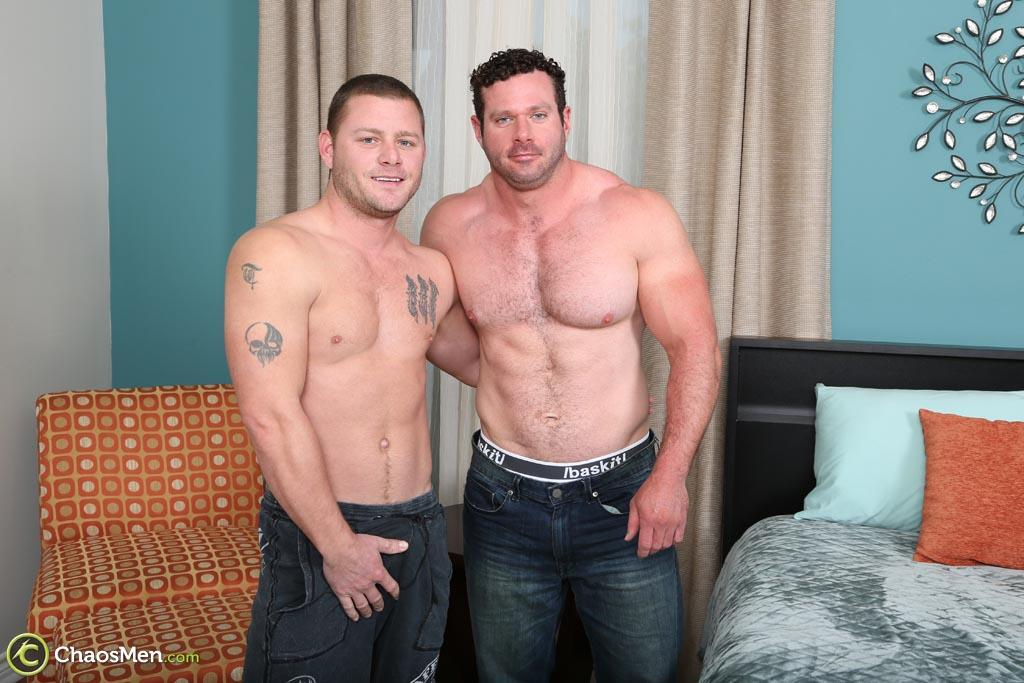 Chaosmen Ransom and Wagner Straight Bodybuilder Getting Barebacked Amateur Gay Porn 02 Hairy Straight Bodybuilder Gets Barebacked By His Bi Buddy