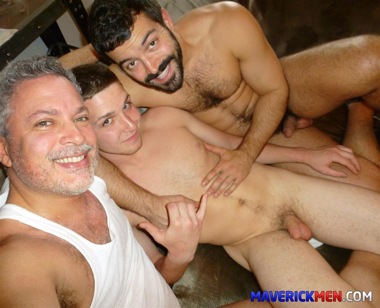 The Maverick Men Tom Hairy Twink Getting Fucked By Two Muscle Daddies Bareback BBBH Amateur Gay Porn 17 Straight Hairy Twink Gets Fucked By Two Muscle Daddies