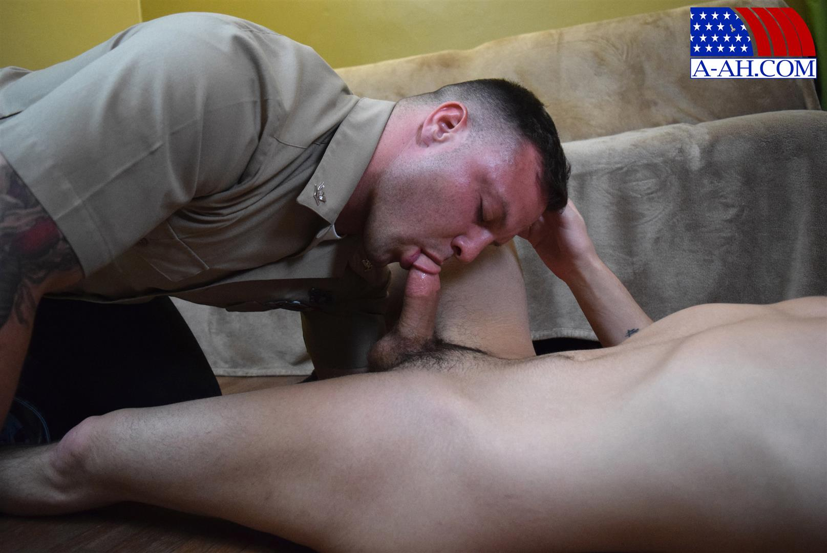 All American Heroes Naked Navy Guy Barebacking a Muscle Twink Amateur Gay Porn 04 Muscular Navy Corpsman Barebacking His Younger Workout Partner