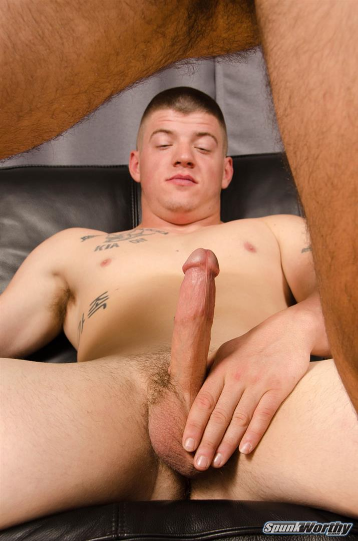 SpunkWorthy Landon and Eddie Straight Army Guy Fucks His First Ass Amateur Gay Porn 10 Straight Army Hunk Barebacks His First Man Ass