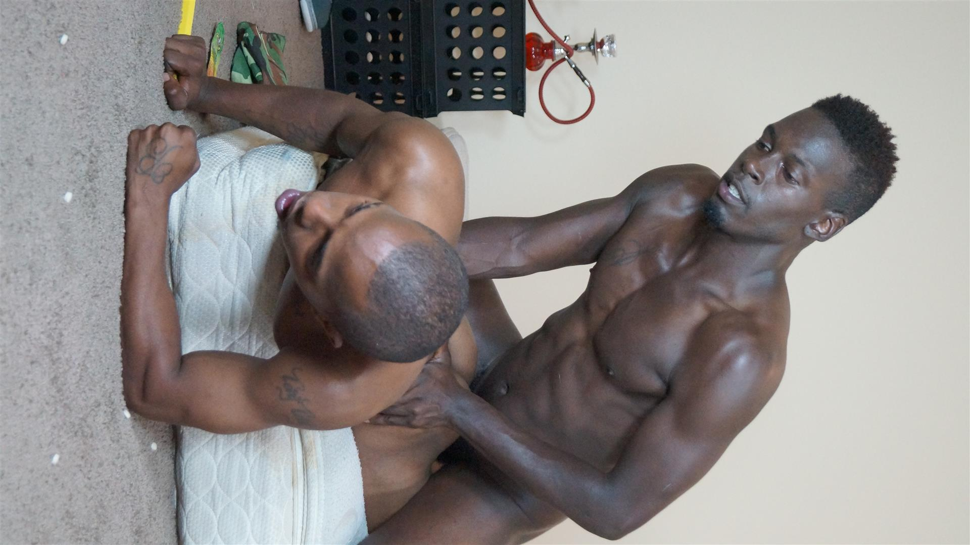 Trap House Boys Ozzy and Dagger Bareback Thug Porn Amateur Gay Porn 08 Hardcore Thug Barebacking With A Big Black Uncut Dick