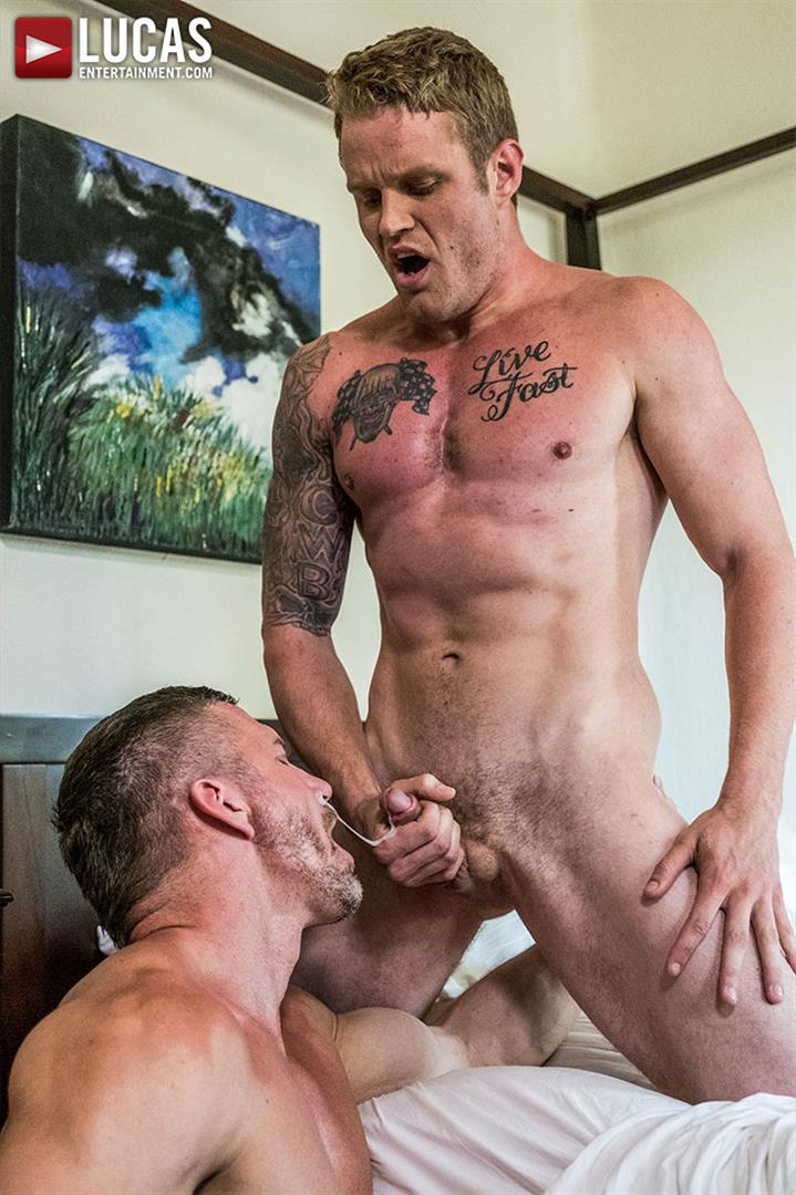 Lucas Entertainment Shawn Reeve and Tomas Brand Bareback Daddy Sex 16 Bareback Riding A Thick Uncut Daddy Dick