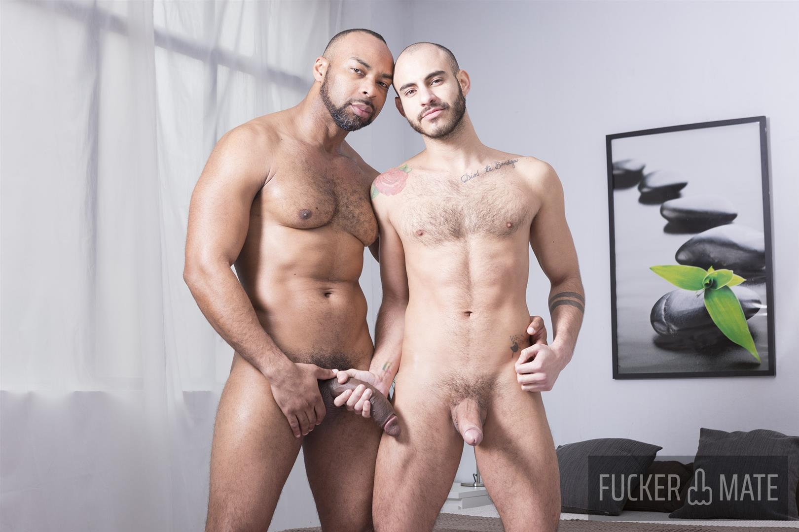 Fuckermate-Ray-Diesel-and-Patrick-Dei-Big-Black-Cock-Barebacking-Latin-Ass-02 Big Dick Black Daddy Ray Diesel Breeding Patrick Dei